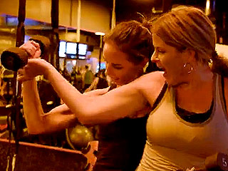 Bush Twins Hit the Gym Together As Jenna Admires Her Sister Barbara's Muscles: 'She's Ripped!'