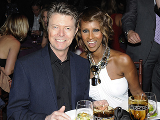 David Bowie Leaves Wife Iman Nearly Half of His $100 Million Fortune in Will