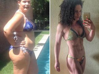 Mom-of-Two Loses 125 Lbs., Goes from Obese to a Competitive Bodybuilder