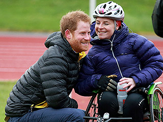 Prince Harry to the Rescue! The Royal Leaps Into Action to Help Woman Who Fell From Wheelchair