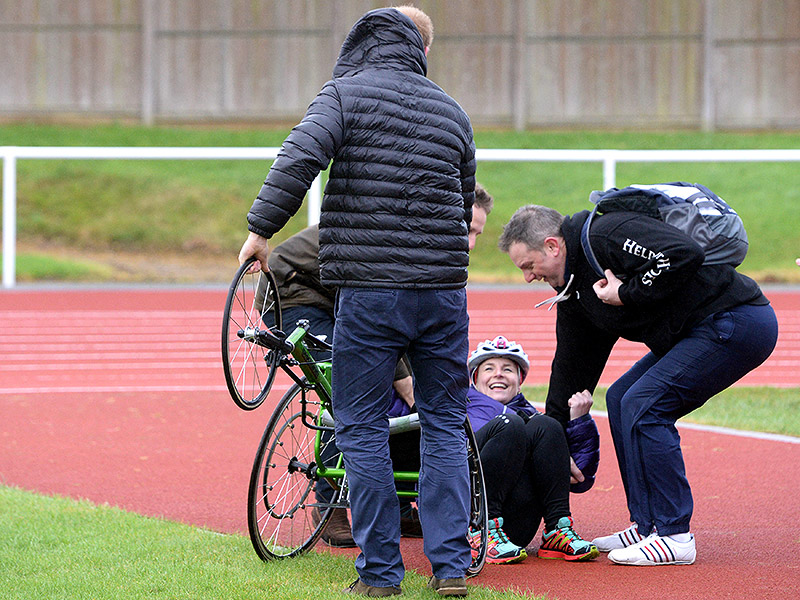 Prince Harry to the Rescue! The Royal Leaps Into Action to Help Woman Who Fell From Wheelchair  The British Royals, The Royals, Prince Harry