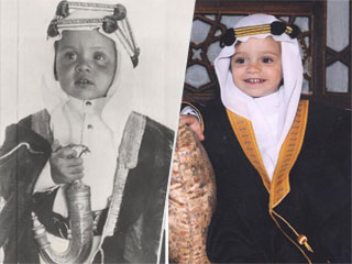 'Like Father, Like Son' – Queen Rania Shares Uncanny Photo of Prince Hashem and King Abdullah Ahead of Their Shared Birthday