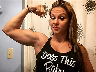 Forget Sarah Stage – This Super-Fit Mom-to-Be Has Abs of Steel Over Her Pregnant Belly