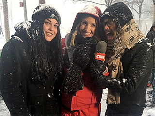 Steven Tyler Unexpectedly Joins CNN's Live Blizzard Broadcast, Advises New Yorkers to Stay Warm with Hot Chocolate