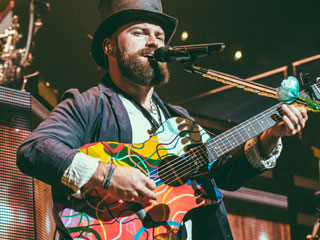 Want to Own a One-of-a-Kind Guitar Played by Zac Brown on Tour? Here's Your Chance!