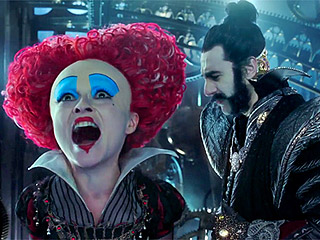 FROM EW: New Alice Through the Looking Glass Teaser Features Voice of Alan Rickman