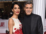 Amal and George Clooney Buy the Kitchen Staff Tequila During a Belated Birthday Celebration in L.A.