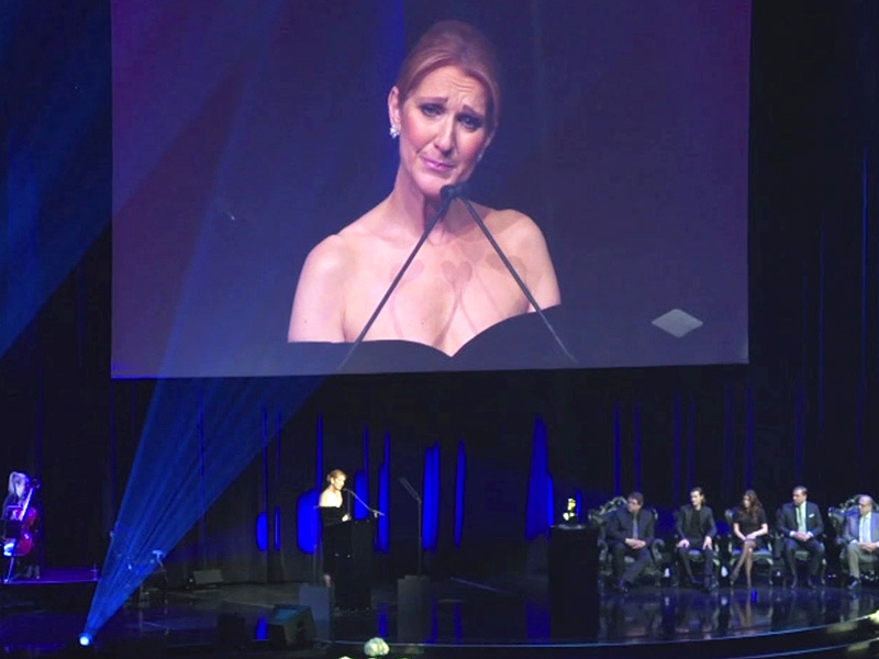 An Emotional Céline Dion Returns to The Colosseum Stage to Remember Her Late Husband: 'I Feel His Love in This Room'| Tributes, Celine Dion, Rene Angelil