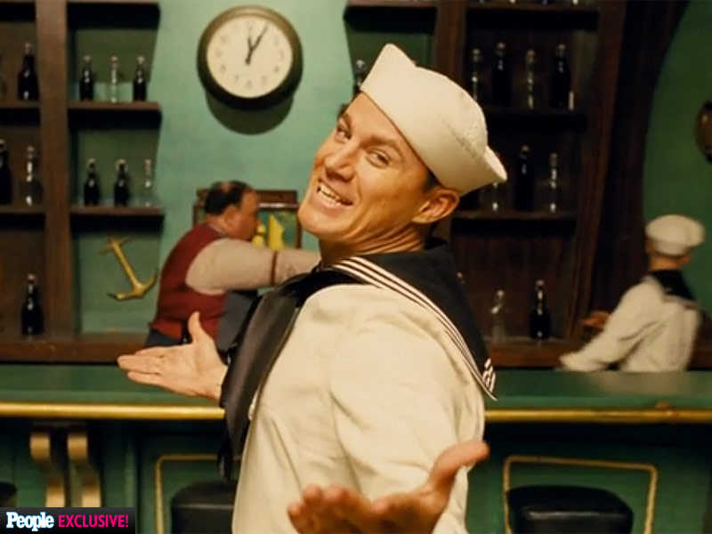 Hail, Channing! Hear Tatum Sing and Watch Him Tap-Dance Like Gene Kelly in New Hail, Caesar! Clip| Hail Caesar, Movie News, Channing Tatum, Ethan Coen, George Clooney, Joel Coen