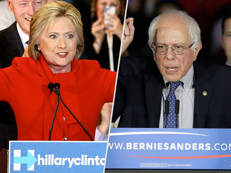 Hillary Clinton and Bernie Sanders Tied in New National Poll, Nevada Poll