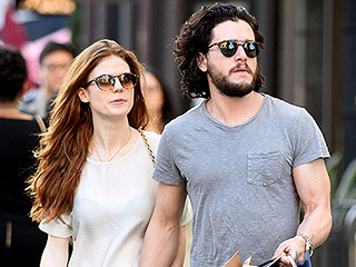 Game of Thrones' Kit Harington and Rose Leslie Share Serious PDA During L.A. Shopping Trip