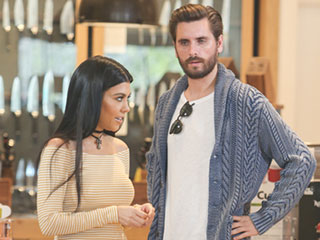 Kourtney Kardashian and Scott Disick Share Friendly Outing While Shopping for His New House