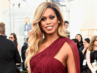 Laverne Cox Urges Americans to Help Out People of Flint, Michigan, at Screen Actors Guild Awards