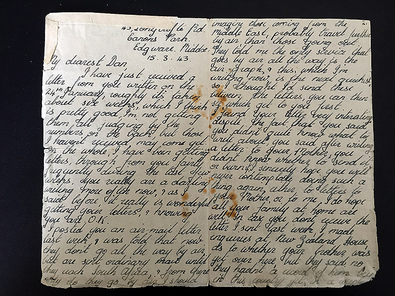 Daughter Receives Trove Of Hidden Love Letters Her Parents
