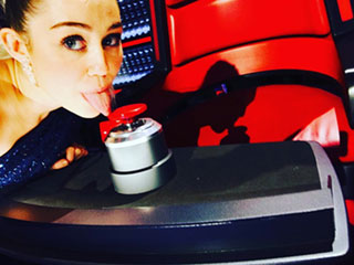 FROM EW: Miley Cyrus Reveals She'll Be a Key Adviser on The Voice