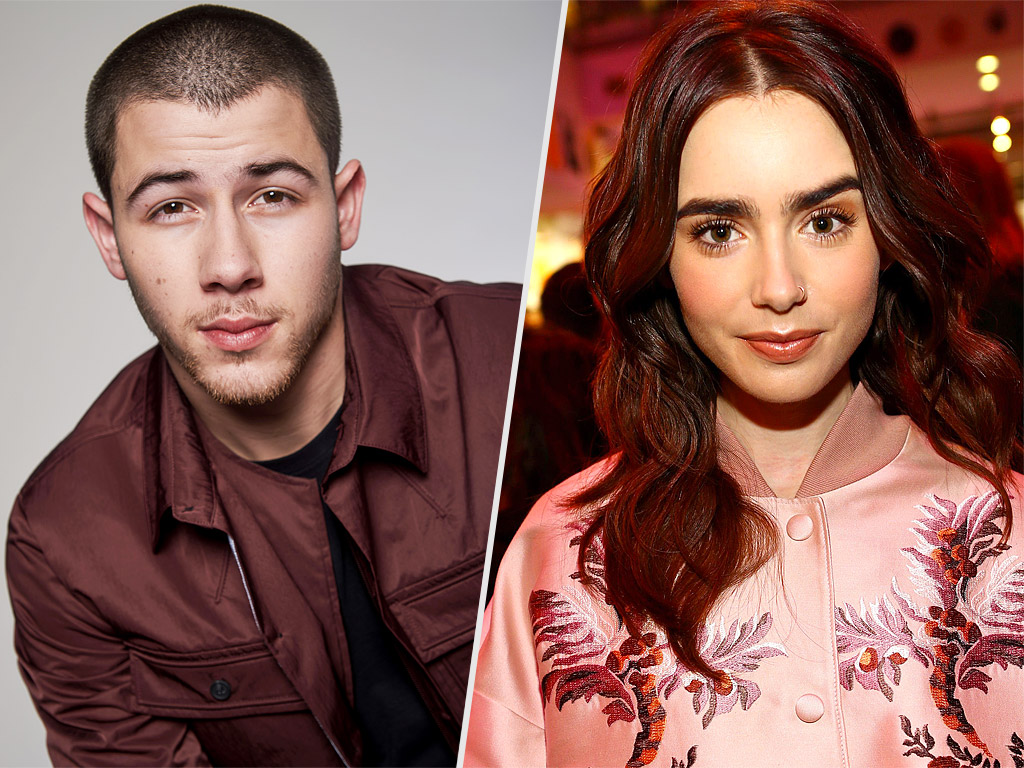 Nick Jonas, Lily Collins Dating? Casually Hanging Out, 'Like Each Other': Source