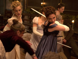 How the Pride and Prejudice and Zombies Stars Put a Creative Twist on Classic Characters