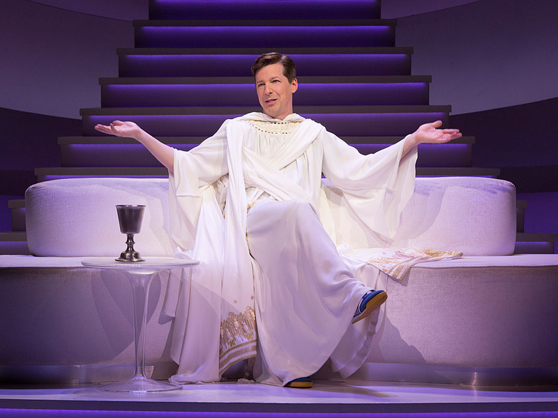 Sean Hayes Will Star as 'God' in the Broadway Comedy An Act of God – See the Pictures!