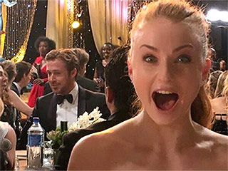 Sophie Turner Sneaks a Selfie with Ryan Gosling at the SAG Awards, and It's Pretty Epic
