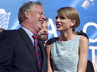 Taylor Swift's Father Makes Funny 'Out of the Woods' Video: My 'Dad's Got Jokes,' Says Singer