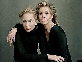 Stars Align! Jennifer Lawrence, Viola Davis, Jane Fonda & More Glam Up Vanity Fair's Hollywood Issue