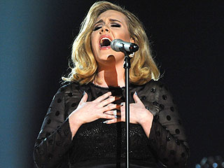 #TBT: Watch Adele Perform 'Rolling in the Deep' at the 2012 Grammy Awards