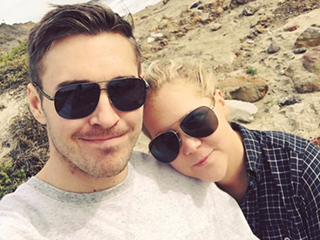 Amy Schumer's Boyfriend Posts Sweet Instagram Snap Saying He 'Hates' Having to Say Goodbye to the Comedian