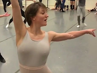 Watch This New York City Principal Ballerina Pirouette Flawlessly at 6 Months Pregnant