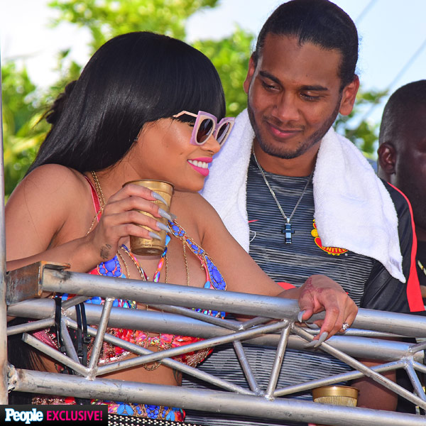 Blac Chyna Parties with Mystery Man at Trinidad Carnival While Rob Kardashian Plays Doting Uncle in Los Angeles| People Scoop, TV News, Rob Kardashian