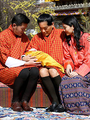 Meet the Newborn Dragon Prince! Bhutan's King and Queen Share First Photo of Royal Baby