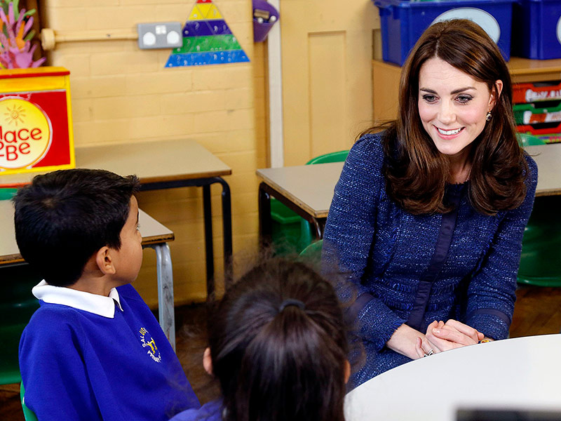 Princess Kate Speaks! Watch Her Charm Kids in a New PSA: 'Every Child Deserves to Grow Up Feeling Confident'| The British Royals, The Royals, Kate Middleton