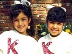 Kim and Kourtney Kardashian Are #Twinning in '50s Fashion #TBT
