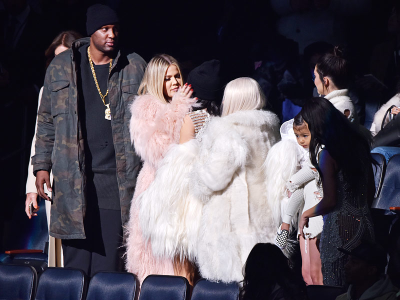 Lamar Odom Walks into Kanye West's Fashion Show: 'No One Deserves It More,' Source Says of Miraculous Recovery| Fashion Week, TV News, Kanye West, Lamar Odom
