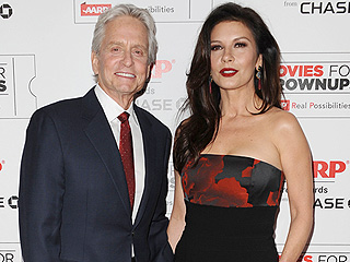 Michael Douglas Talks Health and Marriage as He Steps Out at the AARP Awards with Catherine Zeta-Jones