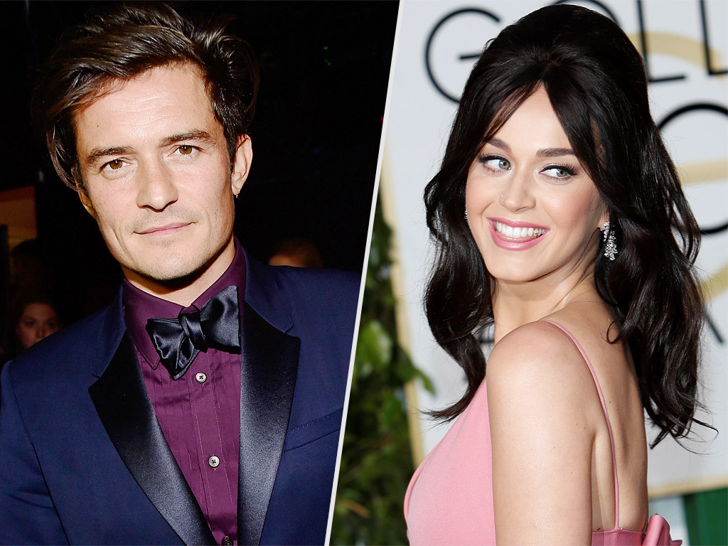 Inside Katy Perry and Orlando Bloom's New Romance: They're 'Very Happy Together,' Says Source| Couples, Katy Perry, Orlando Bloom