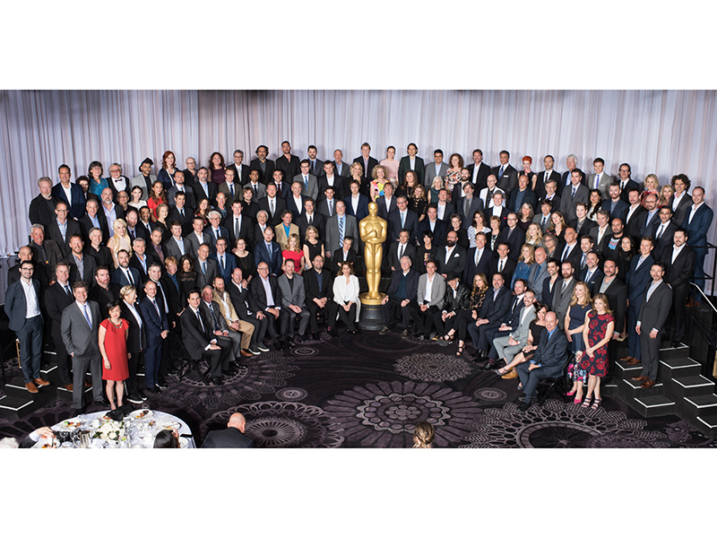Oscars Nominees Luncheon Class Photo of 2016 Revealed