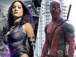 FROM EW: Psylocke vs. Deadpool! Watch Olivia Munn Take On Ryan Reynolds in Cheeky Sword Match
