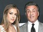 It Was 'Bring Your Kids to the Red Carpet Night' at Saint Laurent for Sylvester Stallone and Pam Anderson