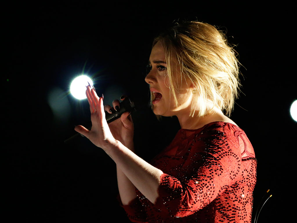 Adele Says She 'Cried Pretty Much All Day' After Technical Difficulties Marred Her Grammys Performance  Grammy Awards 2016, The Ellen DeGeneres Show, Music News, Adele, Ellen DeGeneres