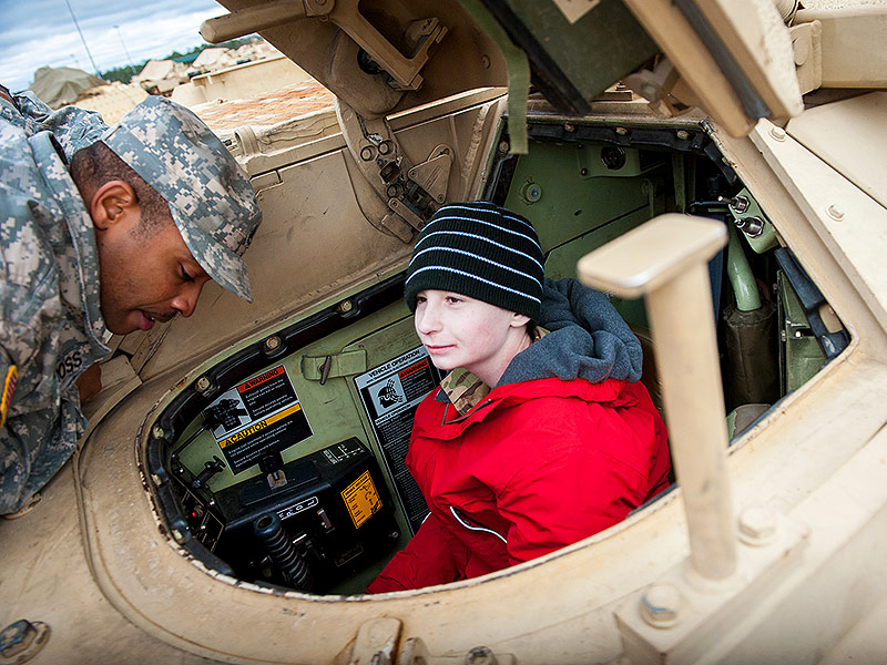 Meet Mr. Tank! Boy, 12, with Inoperable Brain Tumor Gets the Thrill of a Lifetime as He's Made a Tank Commander for a Day| Real People Stories, Military and Soldiers