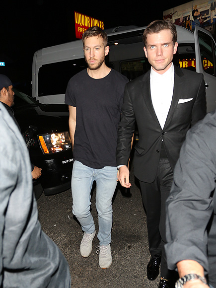 Taylor Swift Parties with Her Squad – and Boyfriend Calvin Harris! – After Coming Full Circle at Grammys| Grammy Awards 2016, News Franchises, Individual Class, Calvin Harris, Ellie Goulding, Lorde