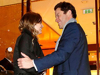 Prince Harry's Ex Cressida Bonas Runs into His Former South Pole Trekker Dominic West in London