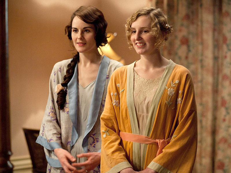 Michelle Dockery Dishes on Downton Abbey's Emotional Truce Between Lady Mary and Lady Edith| Downton Abbey, People Picks, TV News, Laura Carmichael, Michelle Dockery