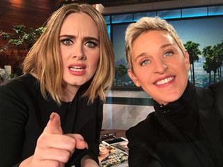 Ellen Teases Adele's Guest Appearance: 'Hello. It's Us. #Adellen'