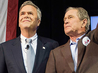Jeb Finally Calls in the Bushes for Campaign Help – And Brother George W. Gets the Laughs as Latest Family Member to the Rescue