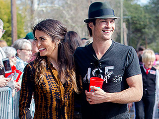 Puppy Love! Nikki Reed and Ian Somerhalder Celebrate First Valentine's Day as a Married Couple at Mardi Gras Animal Charity Event