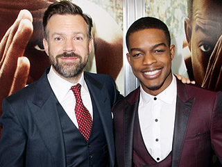 Fast Friends: How Jason Sudeikis and Stephan James Became 'Very Close' On the Race Set