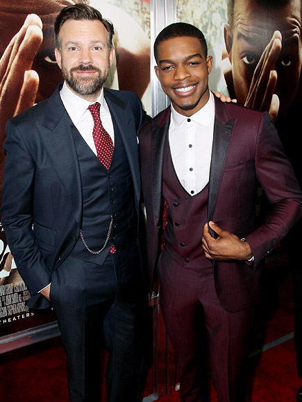 Jason Sudeikis and Stephan James Became 'Very Close' On the Race Set