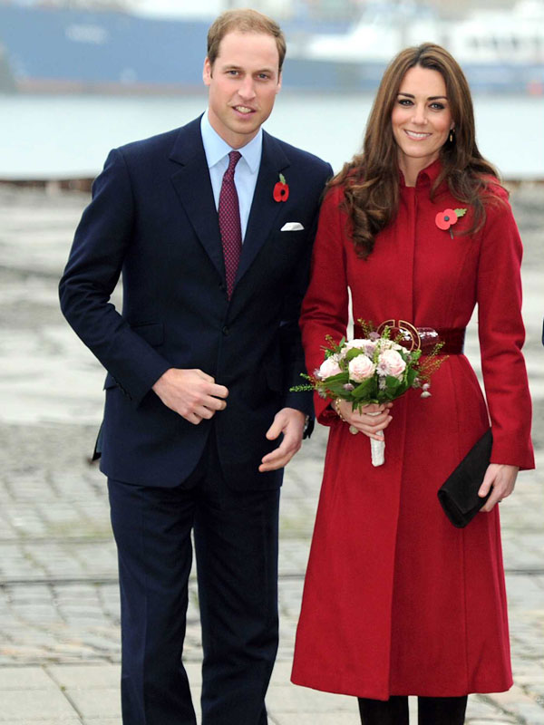 All About Princess Kate's Beloved $495 Red Coat (She's Worn It 4 Times!)| The British Royals, The Royals, Kate Middleton