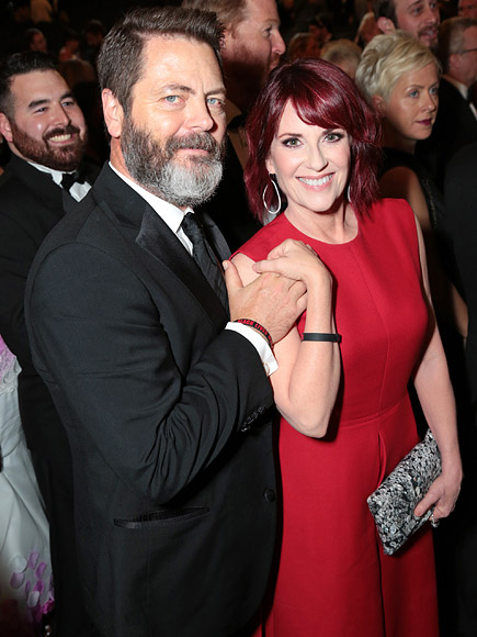 Megan Mullally: Husband Nick Offerman Is the 'Reigning ...